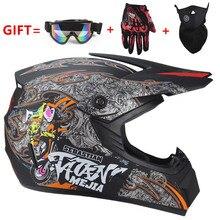 NEW Off Road motorcycle Adult motocross Helmet ATV Dirt bike Downhill MTB DH rac