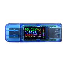 At34 Usb 3.0 Color Lcd Voltmeter Ammeter Voltage Current Meter Multimeter Battery Charge Power Bank Usb Tester qc2 0 quick charge 4 20v usb capacity detector voltmeter ammeter power tester meter current usb power bank