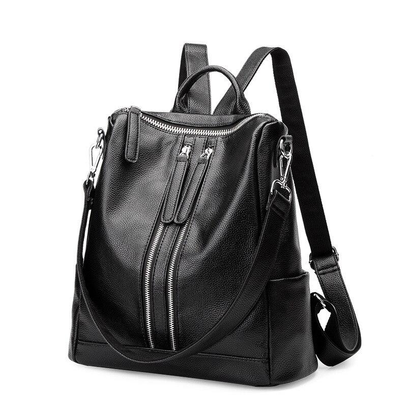 Sacs à dos en cuir véritable pour femmes sacs à dos en cuir sacs d'étudiant pour adolescentes filles sac à dos de voyage pour femmes dailypack C673