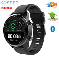 Kospet Brave 4G Smart Watch Phone IP68 Waterproof 1.3 inch Android 6.0 MTK6737 1.2GHz 2GB RAM 16GB ROM Smartwatch 620mAh GPS