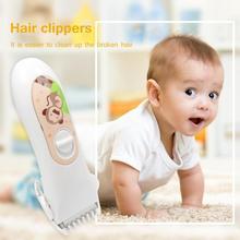 Professional USB перезаряжаемые водостойкие детские электрические волосы машинка для стрижки волос
