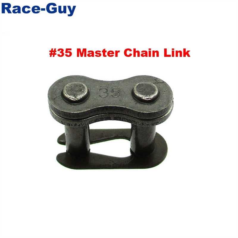 #35 Master Chain Link For Baja Doodle Bug Motovox Mini Bike Harbor Freight  Predator 212cc Go Kart Cart