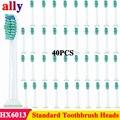 40 шт. сменные насадки для зубной щетки Sonicare подходят для Philips Soniccare HX6024 HX6013 ProResults HealthyWhite  DiamondClean