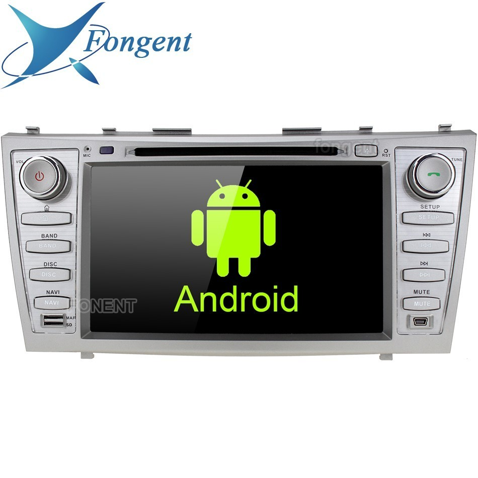 "8"" IPS 1024*600  Android Unit Car DVD Stereo Multimedia Player for Toyota Aurion Camry 2007 2008 209 2010 2011 Radio GPS Audio"
