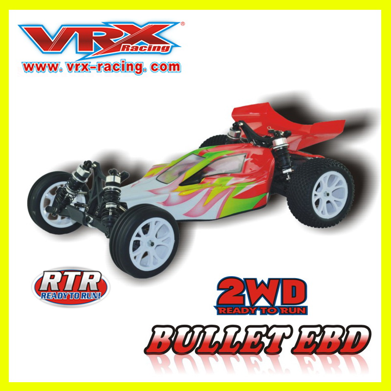 Mini rc car 1 10 VRX Racing Bullet EBD RH2011 1 10 electric buggy without battery
