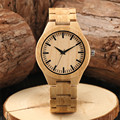 Минималистичные Мужские кварцевые деревянные часы с аналоговым циферблатом  модные мужские часы ручной работы  полностью деревянные часы ...