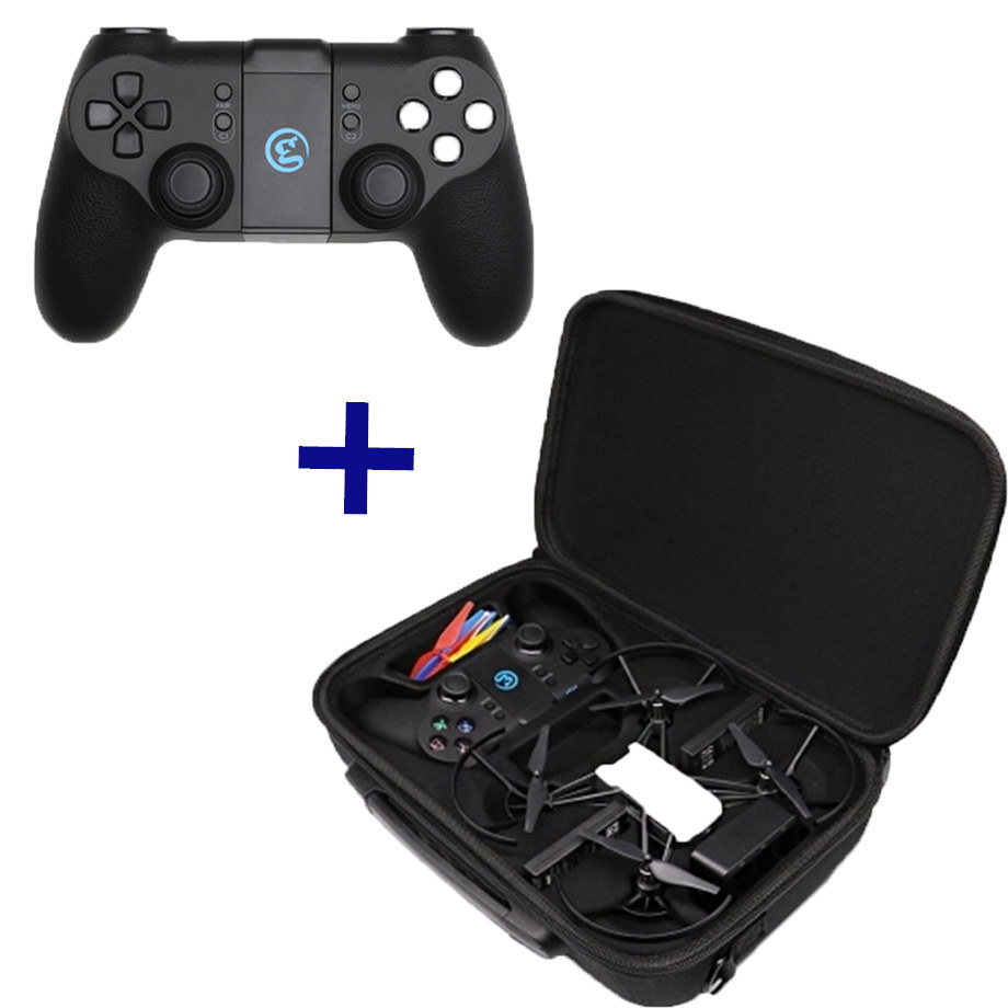 DJI GameSir T1d Controller with Battery 600MA+Handle Shoulder Bag Portable Carrying Casefor DJI tello Drone AccessoriesDJI GameSir T1d Controller with Battery 600MA+Handle Shoulder Bag Portable Carrying Casefor DJI tello Drone Accessories