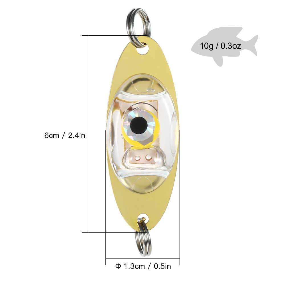 5 шт. подводный светодиодный Deep Drop рыболовная наживка для ловли рыбы приманка мигающая лампа