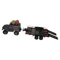 Прицеп тяжелых автомобилей прицеп грузовой перевозчик Металл Комплект для 1/10 HSP Traxxas Redcat RC4WD Tamiya осевой SCX10 HPI D90 RC автомобиль