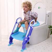 Children Kids Folding Chair Pee Training Toilet Training Potty Seat With Ladder Cover Toilet Urinal Seating Potty For Boys Girls