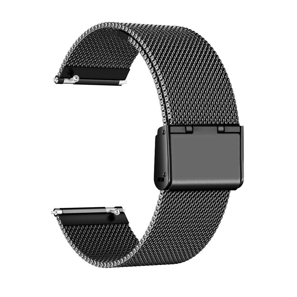 Image 5 - Stainless Steel Mesh Replacement Wrist Watch Band Strap Bracelet Magnetic Closure For Fitbit Versa Wristband Accessories 2019-in Smart Accessories from Consumer Electronics
