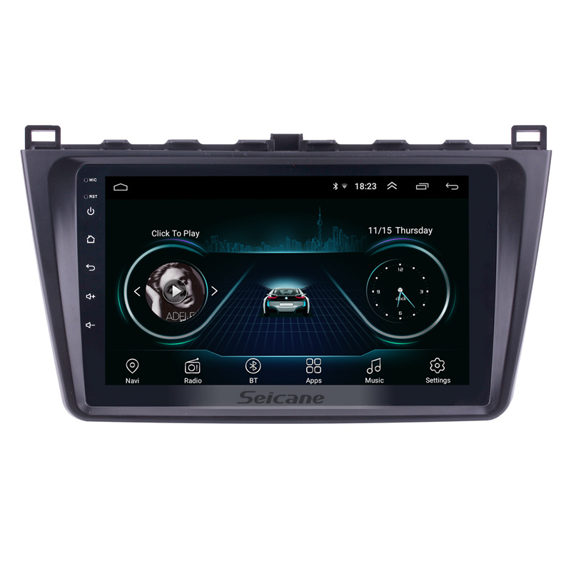 """Seicane 9 Inch For Mazda 6 Rui Wing 2008 2009 2010 2011 2012 2013 2014 Android 8 1 2 Din Car: Seicane 9"""" 2Din WIFI GPS Navigation Car Radio Android 8.1 Multimedia Player For 2008 2009-2012"""