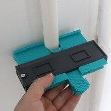 Medidor de duplicação de contorno de plástico, medidor de 5 Polegada, cópia de formas irregulares para ajuste perfeito, fácil de cortar, ferramentas de carpinteiro