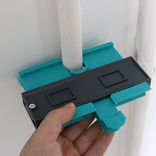 Plastikowy miernik powielania konturu 5 Cal kopiowanie nieregularnych kształtów dla idealnego dopasowania łatwy profil cięcia narzędzia stolarskie