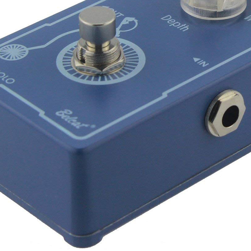 New Belcat Tremolo Pedal TRM-607 Classic Analog Guitar Effects Pedal With True Bypass