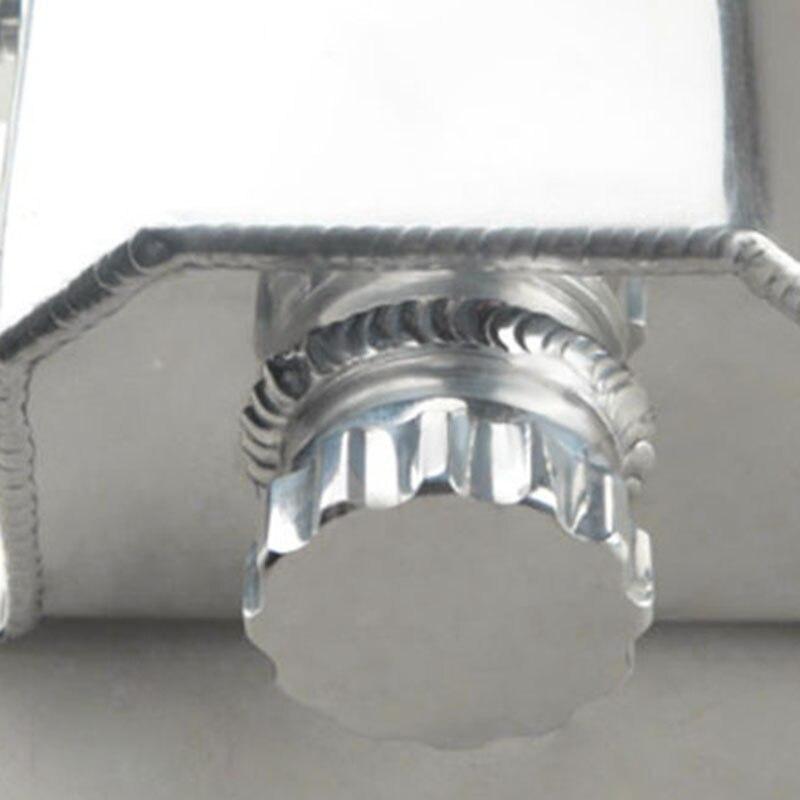 1 set universel 1L aluminium liquide de refroidissement radiateur trop plein récupération bouteille de réservoir d'eau - 3