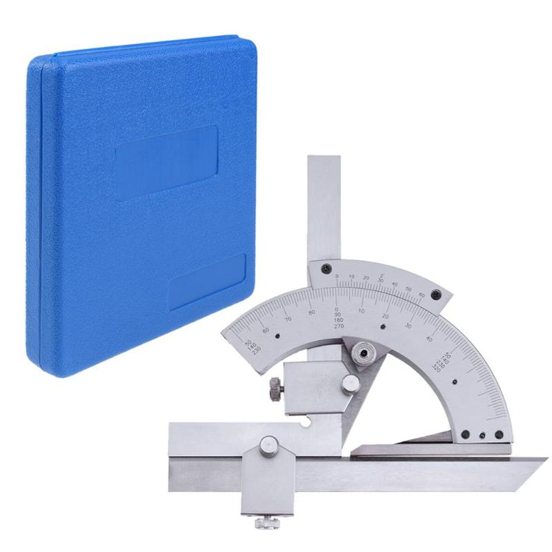 Image 5 - Universal Protractor 0 320 Degree Precision Goniometer Angle Measuring Finder Ruler Tool Woodworking Measuring Tool Dropship-in Protractors from Tools