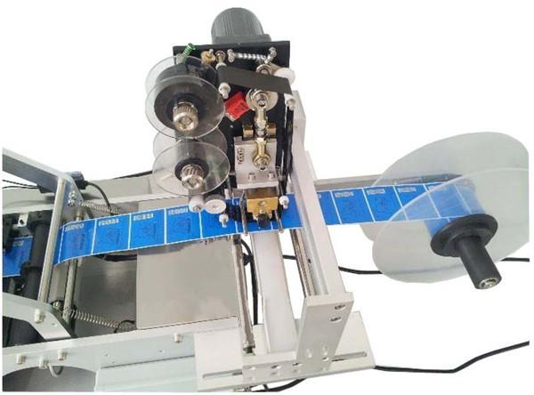 HLB1wzNXFVXXXXX6XXXXq6xXFXXXI - High efficiency semi auto round bottle labeling machine with date printing machine