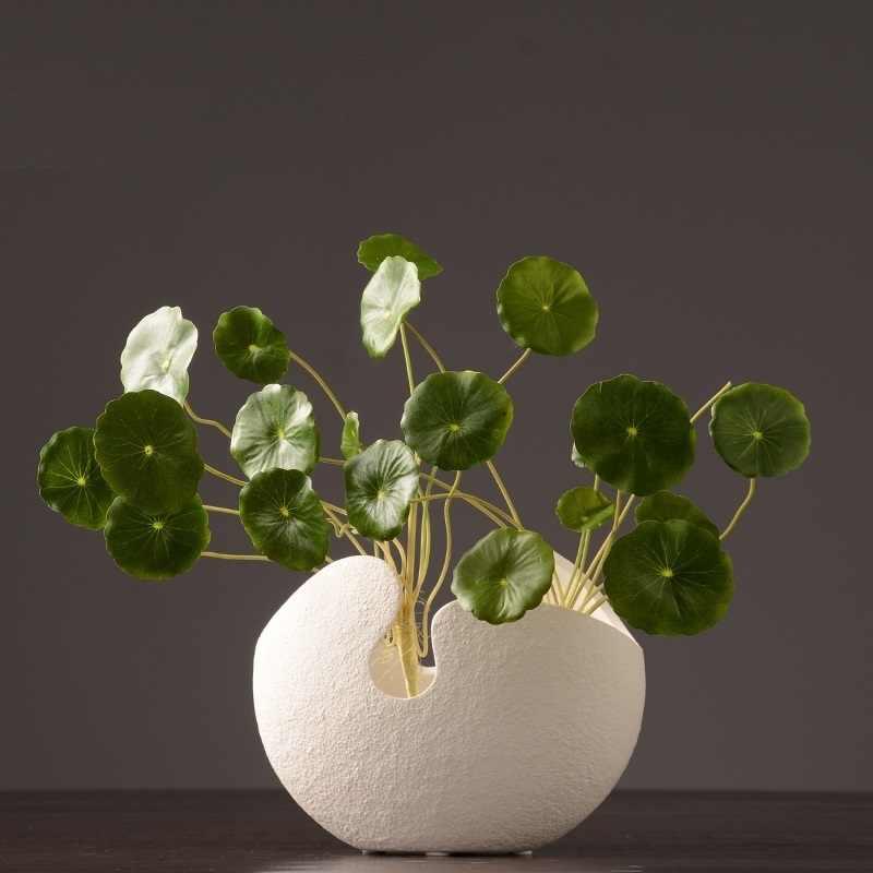 Suculenta florero decoracion ceramica vaso de flor jarrones decorativos moderno accessoires de décoration vase à fleurs moderne