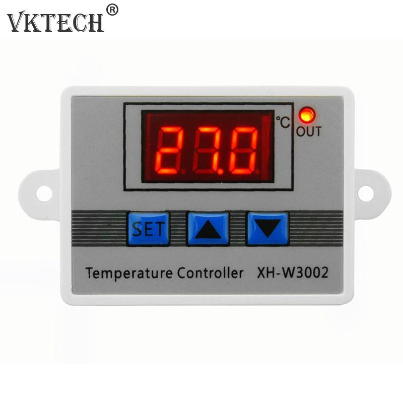 <font><b>W3002</b></font> Digital Temperature Controller 10A Thermostat Control Switch with Probe Sensor DC12V/120W DC24V/240W AC220V/1500W image