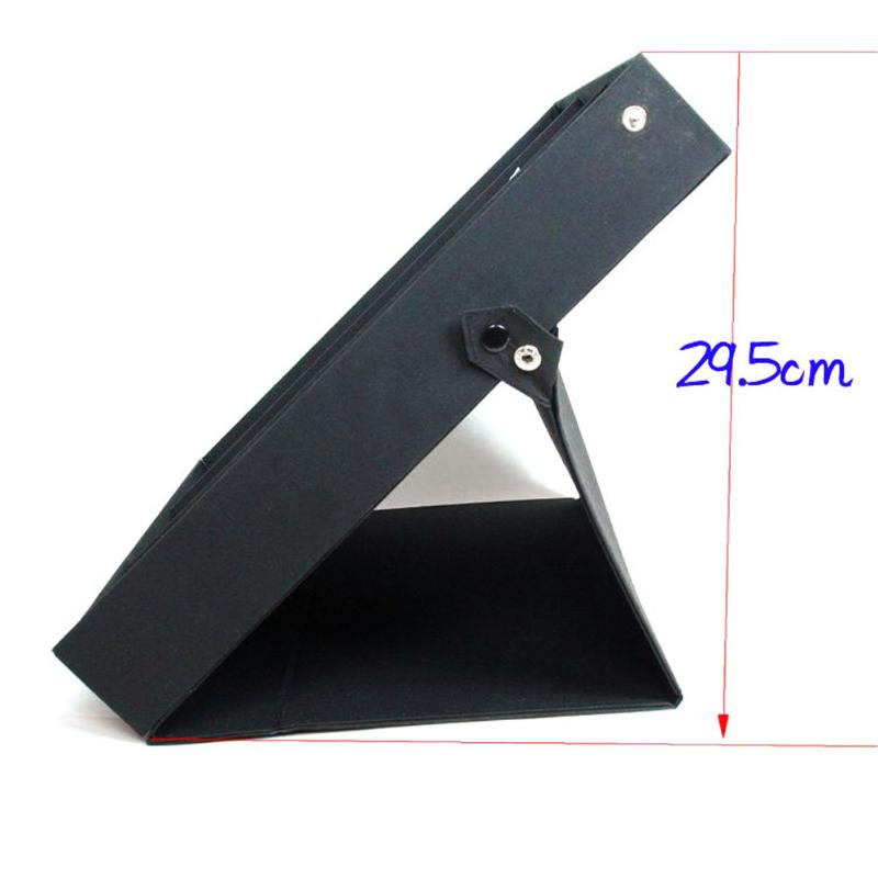 Image 4 - 18 Sunglasses Glasses Retail Shop Display Stand Storage Box Case Tray Black Sunglasses Eye wear Display Tray Case Stand hot saleEyewear Accessories   -
