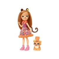 ENCHANTIMALS Dolls 8395587 Girls toys for children girl toy fashion doll game play accessories kids girlfriend MTpromo