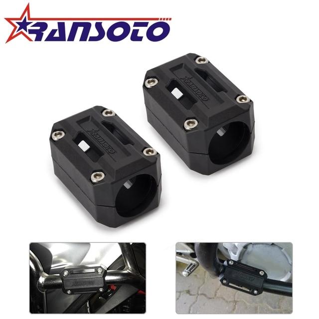 RANSOTO motor Modificado Proteção Bumper Decorativa Bloco Braçadeira 22-28mm PARA BMW R1200GS LC adv F700GS F800GS 2013 -2017