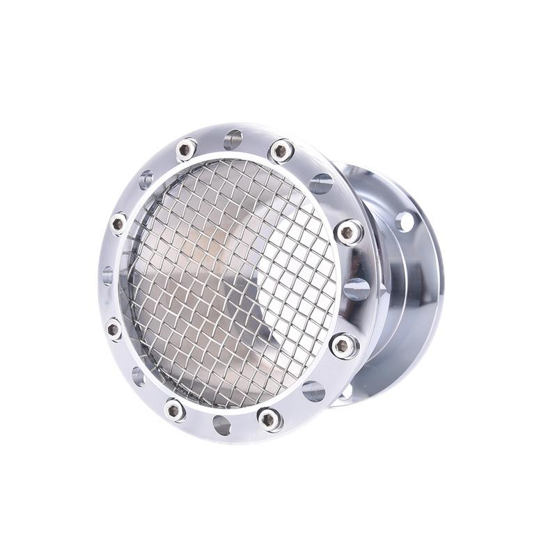 Black/Silver Motorcycle Air Cleaner Intake Filter Velocity Stack CNC Aluminum For Harley Sportster 883 1200 XL 48 2004-U