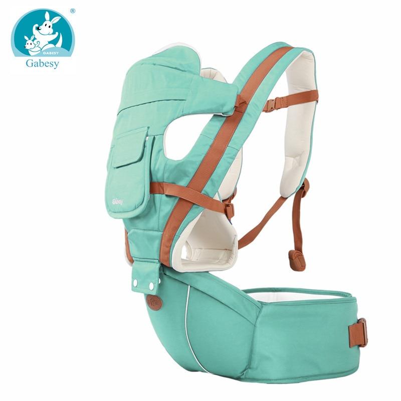 New 6 in 1 For 0 36m mochila infantil ergonomic kangaroo carrier hipseat sling toddler backpack baby backpacks Carriers girl boy-in Backpacks & Carriers from Mother & Kids on AliExpress