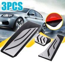 купить 3pcs/set Footrest Foot Pedal Aluminum Alloy Plastic For BMW 1 3 4 Series F20 F30 F31 F32 F33 F34 F36 по цене 1682.24 рублей