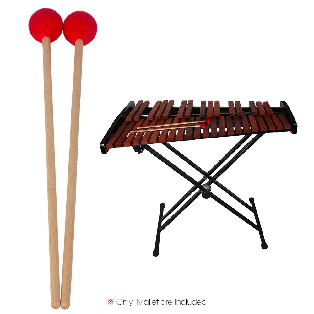 1 пара, молотки палки для среднего маримбы, ксилофон, молоток с ручкой из бука, аксессуары для ударных инструментов, молотки|Детали и аксессуары|   | АлиЭкспресс - Собираем группу