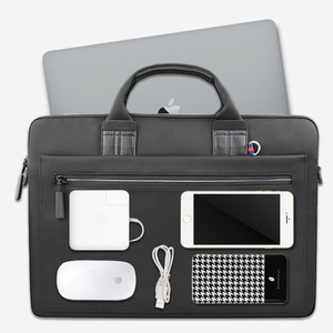 Image 5 - WIWU Laptop Bag Case for MacBook Air 13 Case Pro 13 15 16 Women Men Pouch Notebook Bag 14 inch Nylon Waterproof Laptop Bag 15.6