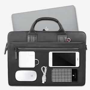 Image 5 - WIWU laptop çantası macbook çantası hava 13 durumda Pro 13 15 16 kadın erkek çantası dizüstü bilgisayar çantası 14 inç naylon su geçirmez laptop çantası 15.6