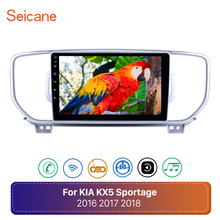 Seicane Android 8.1 2din car dvd player for KIA sportage 2016 2017 KX5 gps navigation 9 Inch wifi 4-core car stereo head unit
