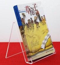 High quality Acrylic books book album motherboard display stand rack tablet computer shelf ipad shelf counter holder 10pcs/lot цены