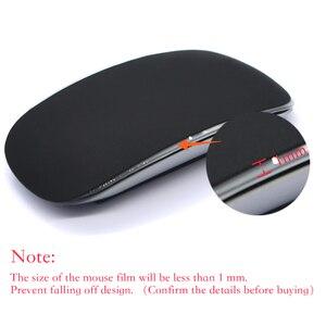 Image 2 - Kolor silikonowe myszy skóry dla magia mouse2 myszy folia ochronna pokrywa Anti scratch film peeling czuć dla apple magia mysz