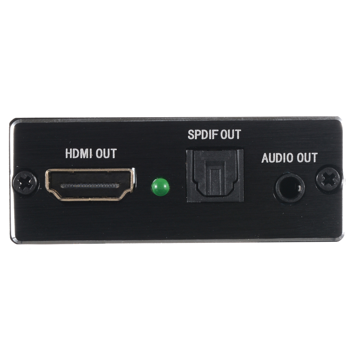 Onsale 1pc HDMI Telvision Splitter 4Kx2K Black HDMI To HDMI Audio Optical TOSLINK SPDIF Extractor Adapter in HDMI Cables from Consumer Electronics