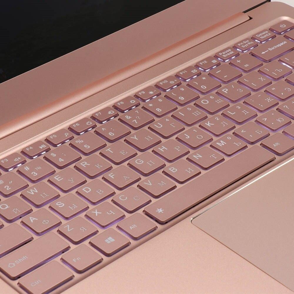 Metal Ultrabook Ssd 256gb 64gb 512g Cpu Intel Windows10 Student Office Laptop Arabic French Spanish Russian Keyboard Backlit #5