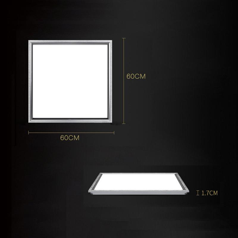 Flat Kitchen Ceiling Lights: 600 X 600CM 48W Ceiling Recessed Suspended LED White Light
