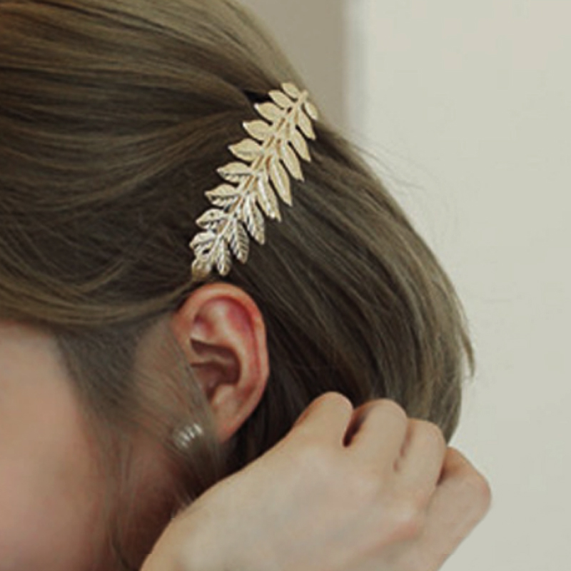 Sale 1 PC Tree leaves Women Charming Hair Comb   Headwear   Hollow Europe Lady Girls Comb