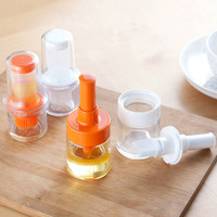 Kitchen Gadgets 2 Type Silicone Heat Resisting Oil Bottle Brushes Cooking Accessories Barbecue Tool Portable Basting Brush Basting Brushes     -
