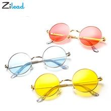 Zilead Korean Sunglasses Women Men Tide Retro Fashion Round Glasses UV400 Metal Frame Eyewear Comfortable Individual Sun