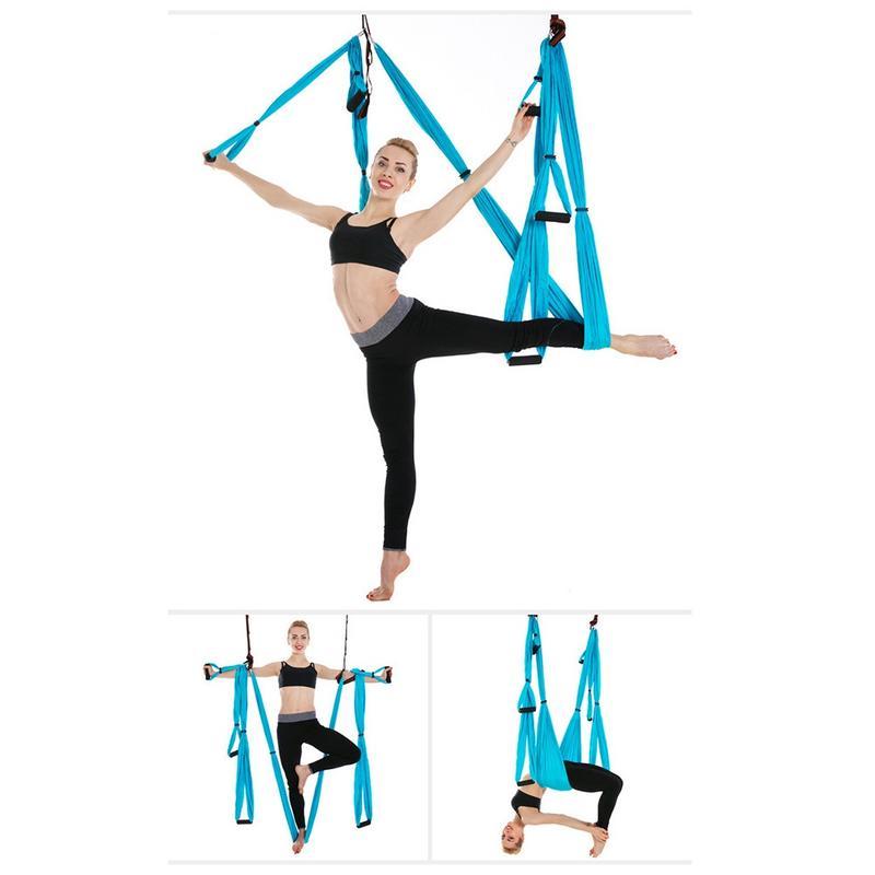 Sport Fitness Yoga hamac pour femmes tissu hamac Yoga Air lit maison Sexy mince équipement jambe taille outil d'entraînement