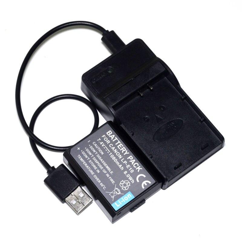 2PCS Batería para Canon EOS 1300D EOS 2000D EOS 4000D EOS Kiss X70