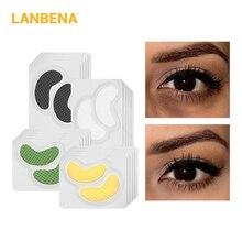 Lanbena 24k Gold Eye Mask Collagen Eye Patches Sleep Mask Dark Circle Eye Bag Anti-aging Wrinkle Firming Skin Care 20pcs=10 Pair