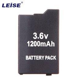 LEISE 1200 MAh 3.6V Lithium Ion Rechargeable Battery Pack Pengganti untuk Sony PSP 2000/3000 PSP-S110 Konsol