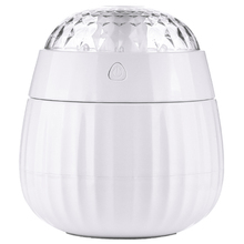 EAS-Creative Gift Air Humidifier Romantic Projection Essential Oil Aroma Diffuser With 7 Changing Led Light For Office Car Hom