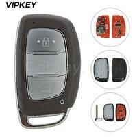 Remotekey スマート車のキー 3 ボタン 433Mhz ID46 PCF7953 現代 IX35 スマート制御キー -