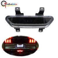 Gtinthebox All In One Full LED Rear Fog Light Kit Ford Mustang GT Cobra GT350 V6 MP Tail/Brake, Backup Reverse Functions 12V