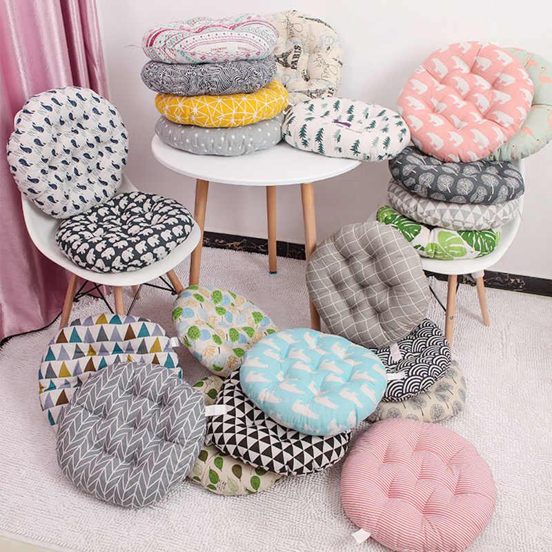 ラウンドクッション 38x38/43 × 43/48 × 48 センチメートルオフィス椅子ソファクッション畳円形装飾シートクッション椅子のクッション卸売